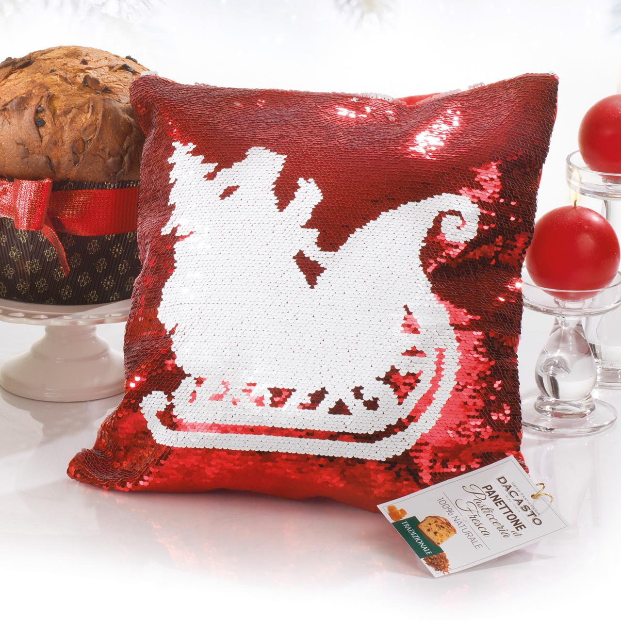 Traditional Panettone (red Pillow)