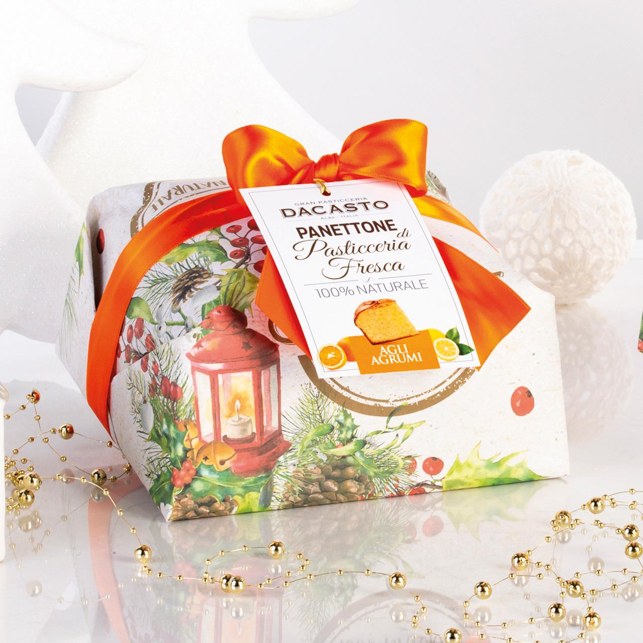 Panettone With Citrus Fruit