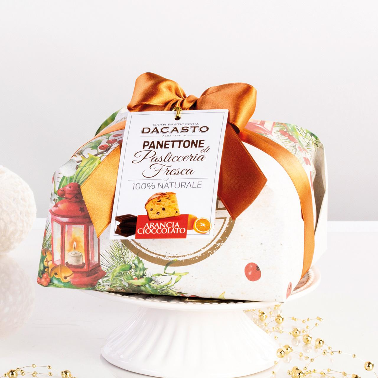 Orange And Chocolate Panettone