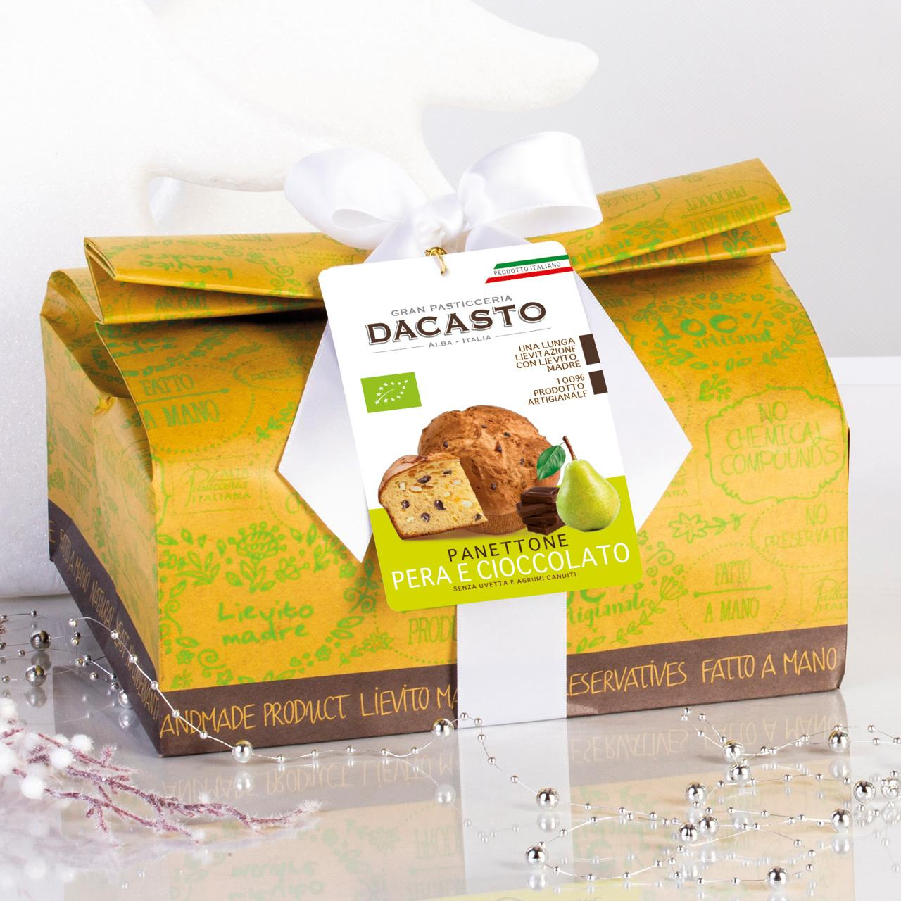 Pear And Chocolate Organic Panettone