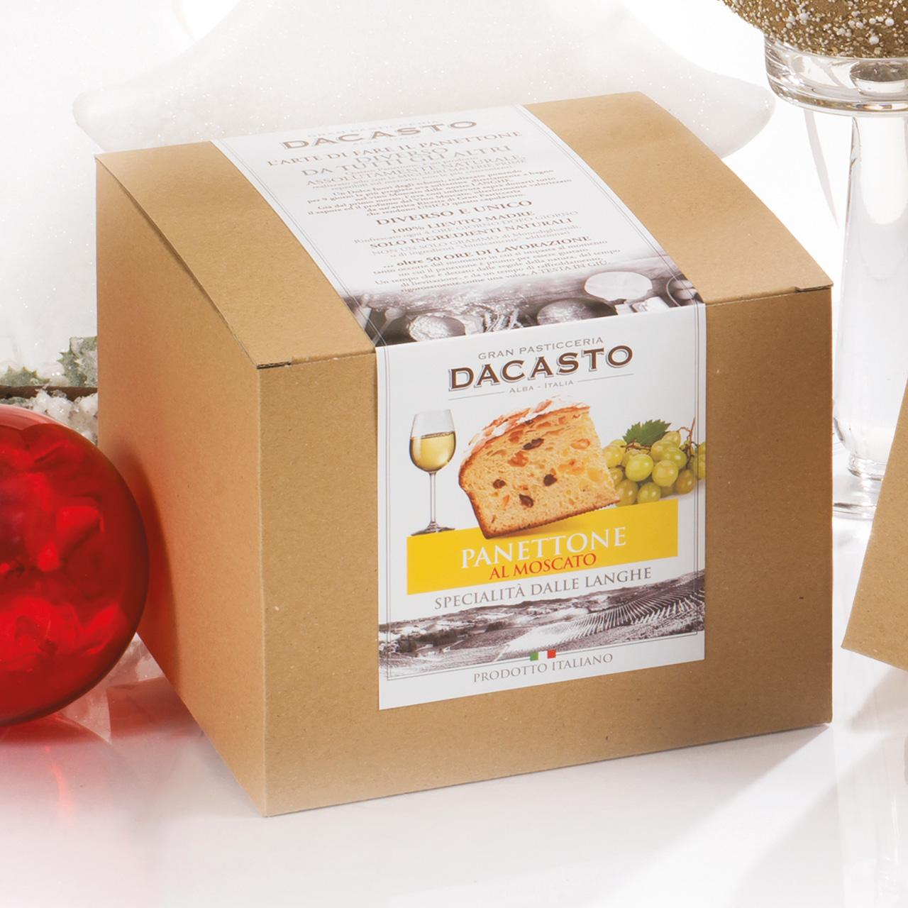 Panettone With Moscato Wine