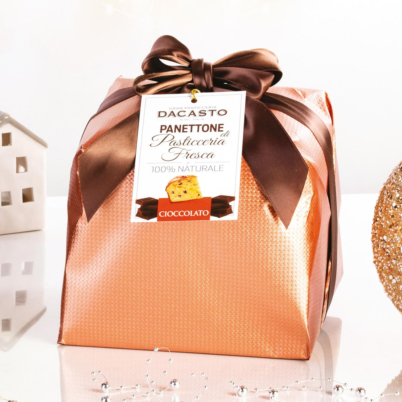 Panettone With Chocolate (tall Version)