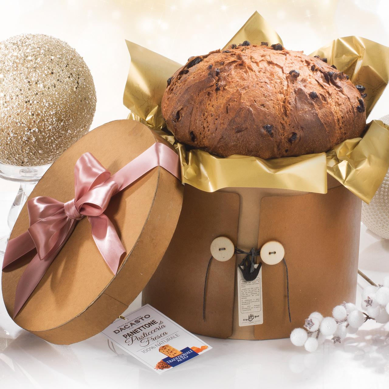 Traditional Panettone Tall Version Assorted Carton